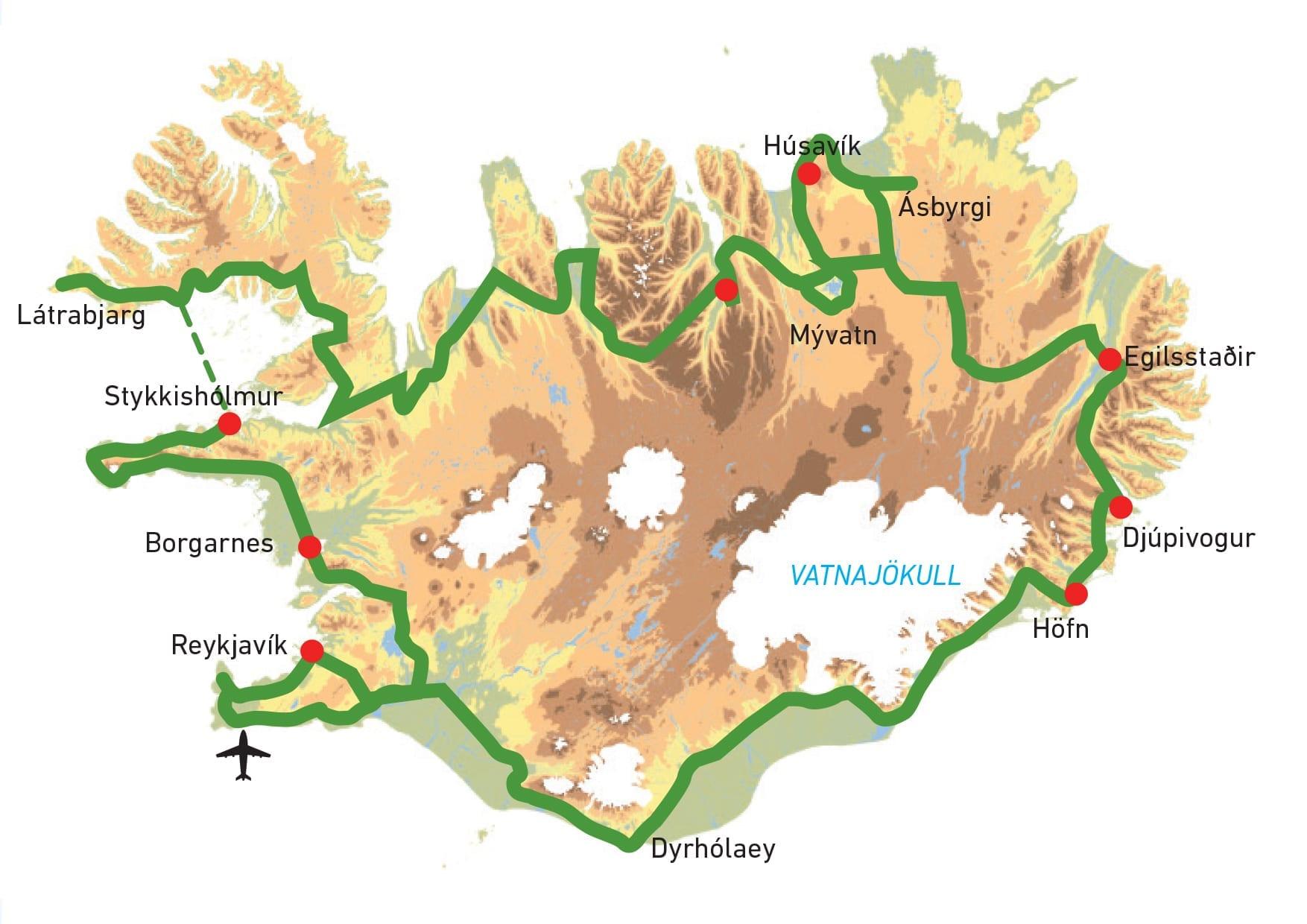 Rundreise Fur Vogelfreunde Und Naturliebhaber Kort Naturreisen